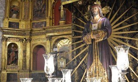 La Cofradía Jesús de Medinaceli celebra un Novenario en la iglesia de San Andrés