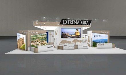 Nuria Flores presenta el estand y las actividades de Extremadura en FITUR 2020