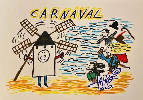 CARNAVAL – Las Viñetas de Jairo Jiménez