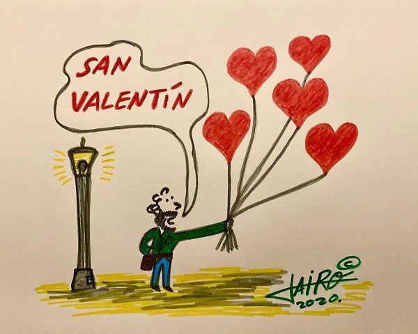 San Valentín – Las Viñetas de Jairo Jiménez