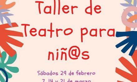 Comienza un taller de teatro para niñ@s, en La Gota