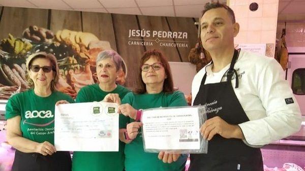 A.O.C.A. recibe la donación de Jesús Pedraza