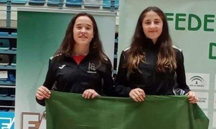 Mariela Vázquez y María González, convocadas por la Selección Española de Bádminton Sub17
