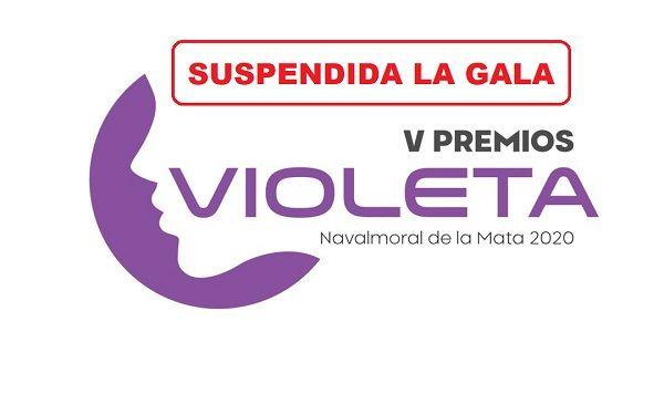 Se suspende la celebración de la Gala de los V Premios Violeta de Navalmoral