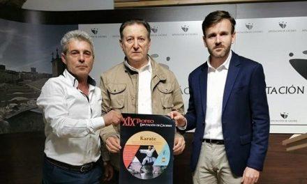 Losar de la Vera acoge el XIX Trofeo Diputación de Cáceres de Karate