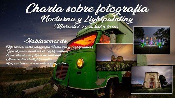 Alberto Cano charlará en directo sobre fotografía nocturna y lightpainting
