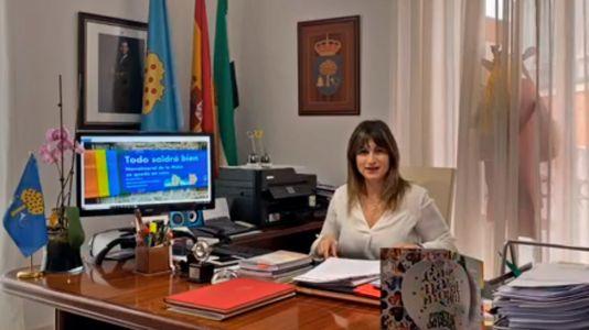 La alcaldesa morala comparece al cumplirse el décimo día del Estado de Alarma