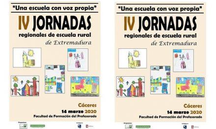 El CPR de Navalmoral organiza las IV Jornadas Regionales de Escuela Rural, de Extremadura