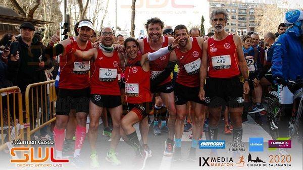Navalmaratón participa en las medias maratones de Mérida, Salamanca y Siero