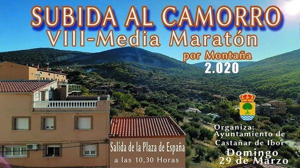 Castañar de Ibor prepara la VIII Media Maratón por Montaña Subida al Camorro