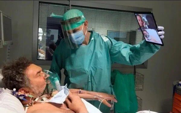 Los pacientes aislados por el Covid19 y sus familias ya pueden comunicarse mediante videollamadas