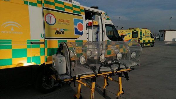 1.100 trabajadores de Ambulancias Tenorio en Extremadura realizarán un nuevo curso para prevenir el coronavirus