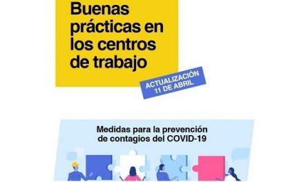 El Ministerio de Sanidad edita la Guía de Buenas Prácticas para Centros de Trabajo