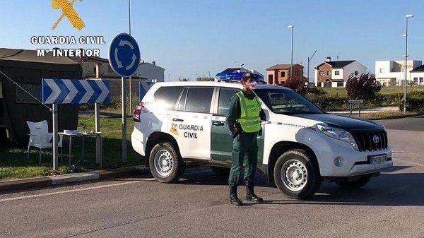 La Guardia Civil investiga a una mujer de Talayuela por un delito de desobediencia