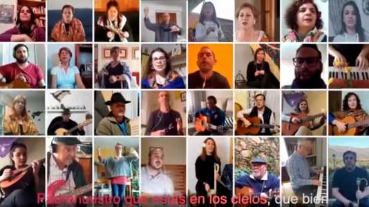 """""""El Padrenuestro"""" sale de Madrigal de la Vera al mundo, con la Ronda ONLINE"""
