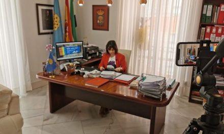 Raquel Medina habla de las medidas que está adoptando el Ayuntamiento