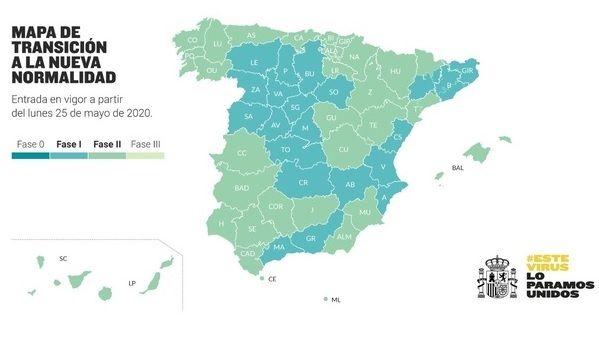 La Junta considera un logro colectivo el paso de Extremadura a la Fase 2