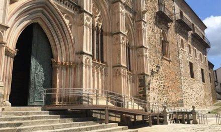 El Monasterio de Guadalupe estrena mejoras de accesibilidad en su reapertura al culto