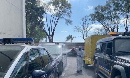 Ambulancias Tenorio firma un contrato con Químicas de Almaraz para compras de productos de limpieza y desenfección