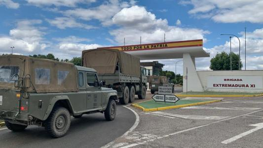 El Ejercito de Tierra se retira y la Guardia Civil vuelve a tomar el control de la Seguridad en CNA