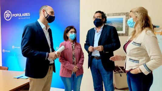 El PP provincial lamenta la discriminación que, asegura, sufre Navalmoral desde la Diputación
