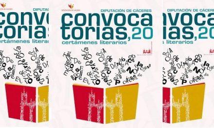 Se reanudan los plazos para presentar trabajos a los certámenes literarios de Diputación