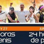 Navalmoral acoge el Trofeo Diputación y las 24 Horas de Tenis y Pádel