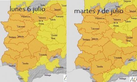 Alerta Naranja por altas temperaturas en toda Extremadura