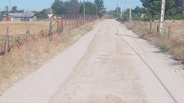 Navalmoral comienza las obras para el arreglo de los caminos