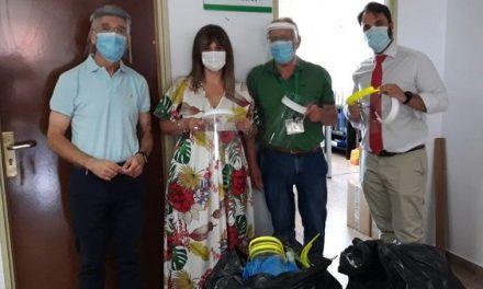 Renault al Rescate, el Ayuntamiento y Cs donan 300 máscaras al Hospital Campo Arañuelo