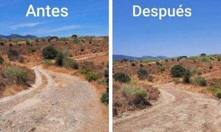 Carrascalejo finaliza las obras de mejora del camino del Pantano/carril de Torrelamora