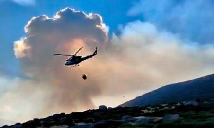 El incendio de Gredos tiene menos complicaciones en La Vera