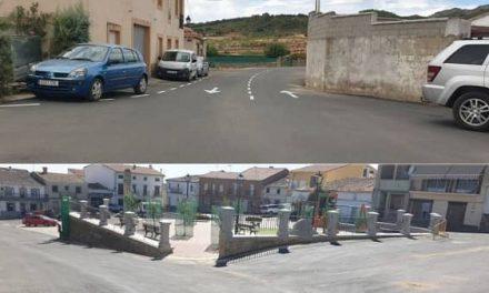 Finalizan en Deleitosa las obras de pavimentación y redes