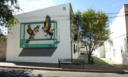 Losar de la Vera lucirá con Muro Crítico obras de los artistas urbanos Brea, Rosh333 y Kolejo