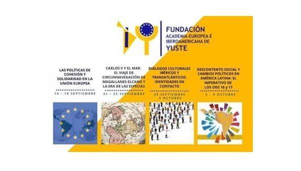 La Fundación Yuste organiza cuatro cursos online de libre acceso