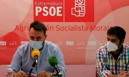 El PSOE moralo valora positivamente el trabajo realizado para evitar el paso del tren en superficie