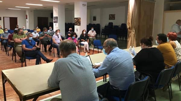 Begoña García presenta a los responsables municipales de La Vera el plan de actuación forestal