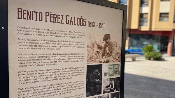 """La obra de Benito Pérez Galdós ocupa la exposición """"A la Calle"""", en Navalmoral"""