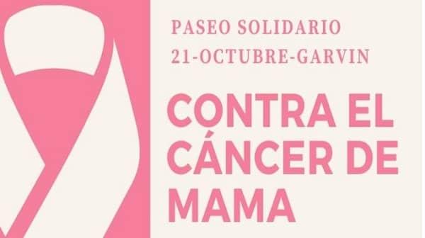 Garvín celebra la MARCHA ROSA contra el cáncer de mama