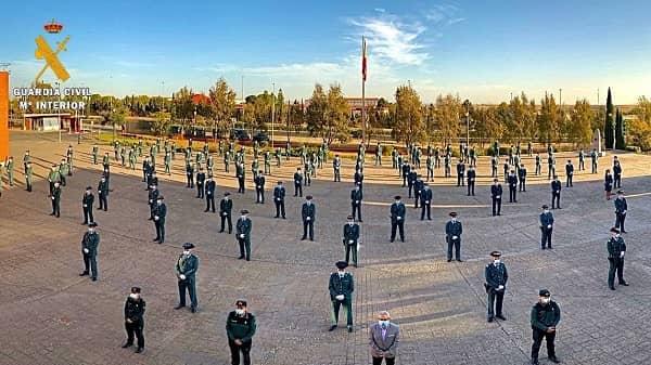 150 nuevos Guardias Civiles se incorporan a la Comandancia de Cáceres