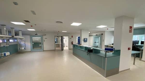 El Grupo Render finaliza las obras de la Unidad de Cuidados Críticos Polivalentes del Hospital Campo Arañuelo