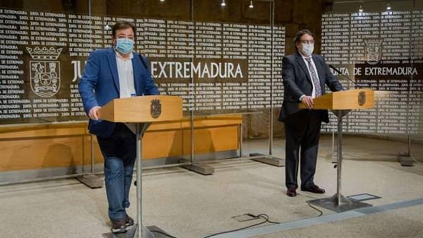 Extremadura solicita el estado de alarma para limitar la movilidad desde medianoche a las seis de la mañana