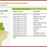 24 casos positivos confirmados entre 11 poblaciones notifica el área de Navalmoral