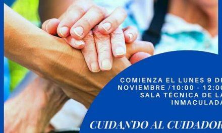 AFACA imparte el taller gratuito Cuidando al Cuidador