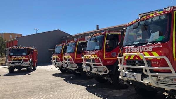 Los parques de bomberos de Jarandilla, Guadalupe y Trujillo estarán operativos en 2022