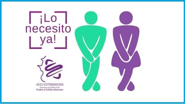 Navalmoral se adhiere a la iniciativa ¡Lo necesito ya! de pacientes con enfermedades inflamatorias intestinales