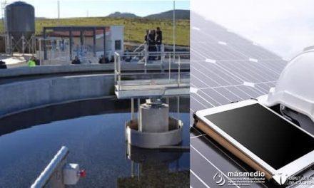 13 depuradoras de aguas residuales funcionarán con energía fotovoltaica