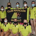 El CN Moralo, tercero en el VII Trofeo Máster de Otoño y dos oros en relevos