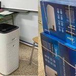Ya están en funcionamiento los 12 purificadores comprados por la AMPA del Sierra de Gredos