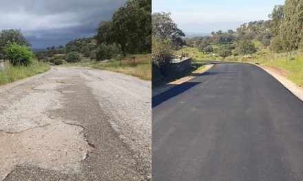 Finaliza en Casas de Belvís la rehabilitación del Camino Cañaveral